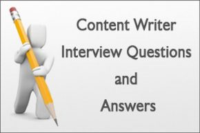 Best Interview Questions for Content writers