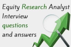 Equity Research Analyst Interview Questions and Answers