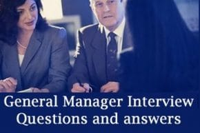 General Manager job Interview questions