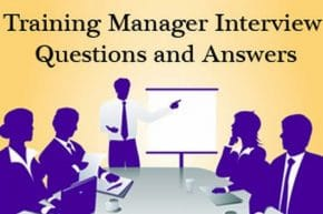Training Manager job Interview Questions and Answers