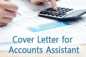 Accounts Assistant Cover Letter Sample