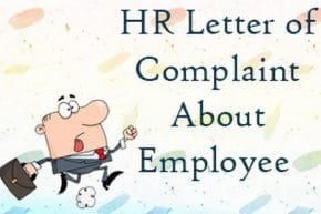 employee complaint letter to human resources