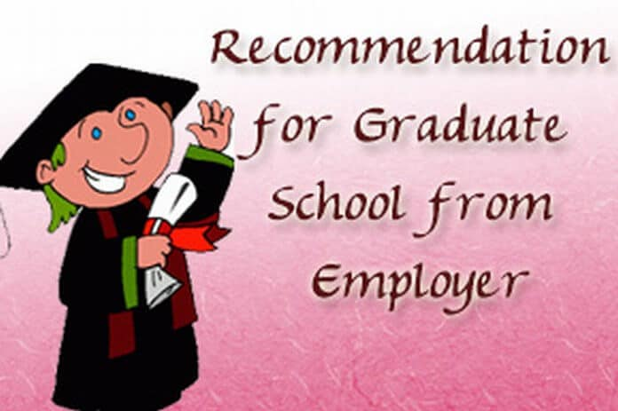 u00bb sample letter of recommendation for graduate school from