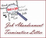Job Abandonment Termination Letter