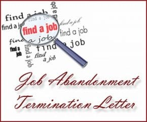 30 Unique Job Abandonment Termination Letter WBXO