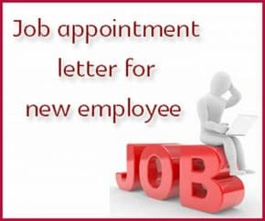 Job appointment letter for new employee hr letter formats job appointment letter for new employee thecheapjerseys Image collections