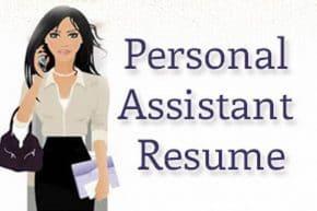 Personal Assistant Resume Impressive