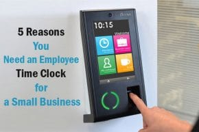 Employee Time Clock for a Small Business, Time Clock Small Companies