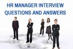 HR Manager Interview questions and answers