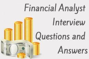 Financial Analyst job Interview questions