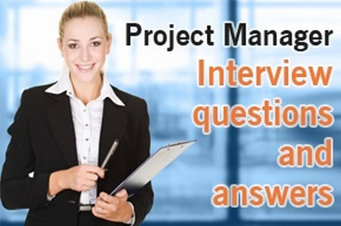 project manager interview questions and answers