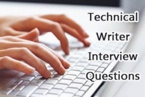 Technical Writer job Interview Questions and Answers