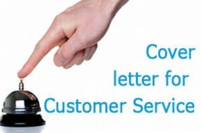 sample cover letter for customer service