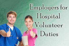 Employers for Hospital Volunteer Duties