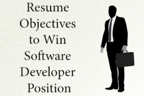 Resume software developer position
