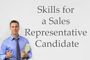 Sales Representative Candidate