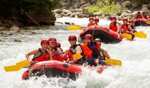 River Rafting team building activitie