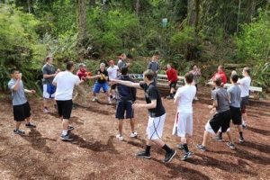 Group Juggle Team Building Game