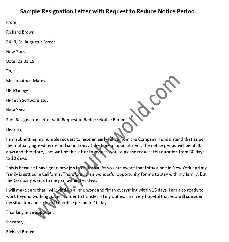 Reply To Resignation Letter from www.yourhrworld.com