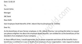 Employee Benefits Letter Sample from www.yourhrworld.com