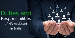 Human Resource Assistant Duties and Responsibilities in India