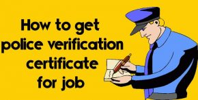 Police verification certificate for job In India - Police Clearance Certificate