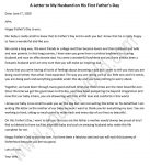 Letter to My Husband on His First Father's Day
