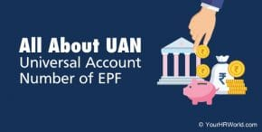 Universal Account Number (UAN) of EPF